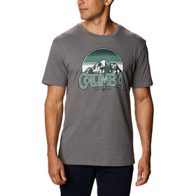 Columbia Basin Butte T-Shirt z nadrukiem Mężczyźni, city grey branded sunshade